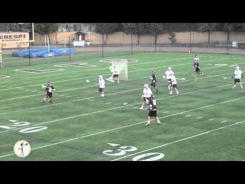 Colton Michel Attack #28 | Palos Verdes Peninsula High School CA | Class 2015 | LaxRatz.com