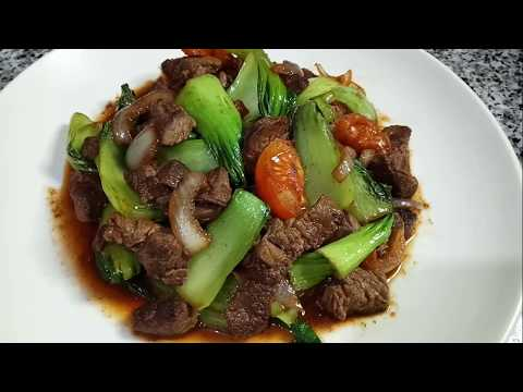 #BEEF STIR #FRY WITH BABY #BOKCHOY | PETCHAY