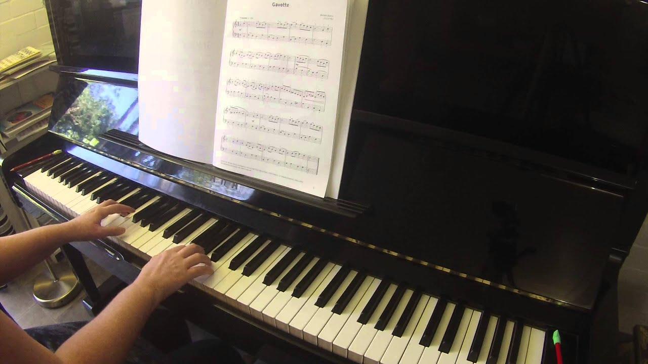 Gavotte by William Boyce Trinity College London piano grade 2 2015-2017