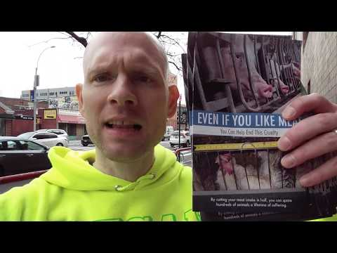 VEGAN Outreach - Colleges Leaflet FUN Easy & Effective Tips (Not Just 4 Students)Free Speech Schools