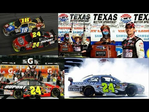 All of Jeff Gordon's Wins in 2009 (Finishes) Jeff Gordon Edi