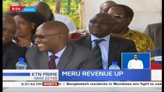Meru County hits new high revenue, collection up by 180 Million shillings