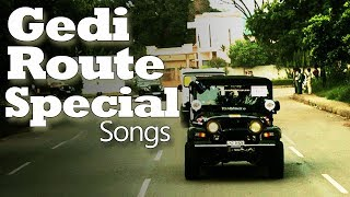 Gedi Route Songs | New Punjabi Songs 2019 | Video Jukebox | White Hill Music