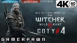 The Witcher 3: Wild Hunt 4K GOTY Edition 2160p 60fps Max Settings Death-March Part 4