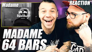 Red Bull 64 Bars - Madame prod. 2nd Roof REACTION by Arcade Boyz