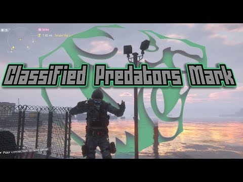 Classified Predator's Mark - The Division 1.8 PVP build (600k Toughness, 400k DPS)