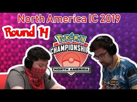 Round 14 James Baek Vs Wolfe Glick - 2019 Pokémon North America International Championships VGC