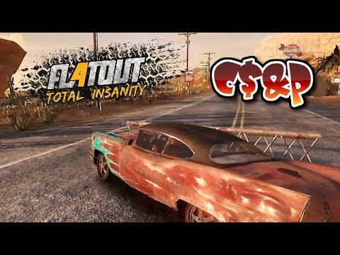 FlatOut Total Insanity - Playstation 4  ( RUBBISH GAME ) |