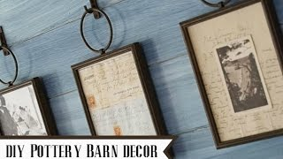 DIY Pottery Barn Home Decor {Pottery Barn Dupe}