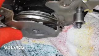 Демонтаж механизма стояночного тормоза VOLVO XC90 I-gen. Решение проблем. Handbrake VOLVO XC90