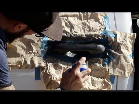 Plasti Dip your door handles with Performix Plastidip ...
