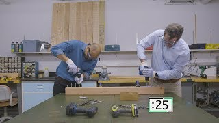 Power Drill Challenge | Consumer Reports