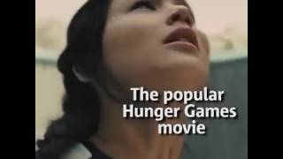 VIDEO OMG!  Real life Hunger Games