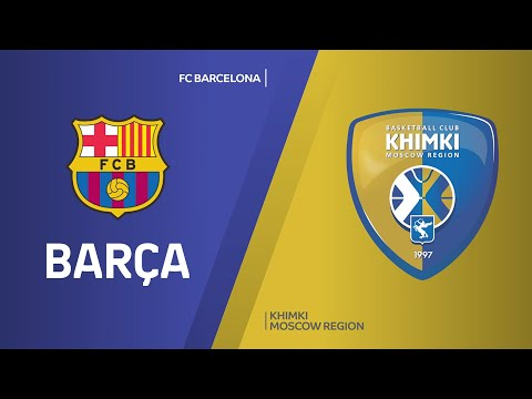 FC Barcelona - Khimki Moscow Region Highlights   Turkish Airlines EuroLeague, RS Round 14