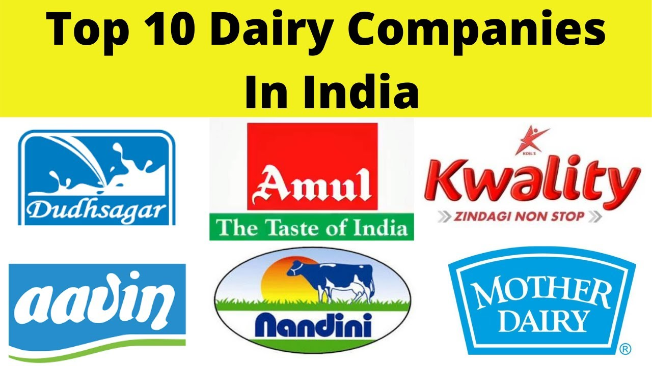 top 10 dairy companies in india 2021 - youtube
