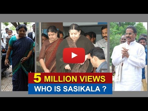 Who is Sasikala?