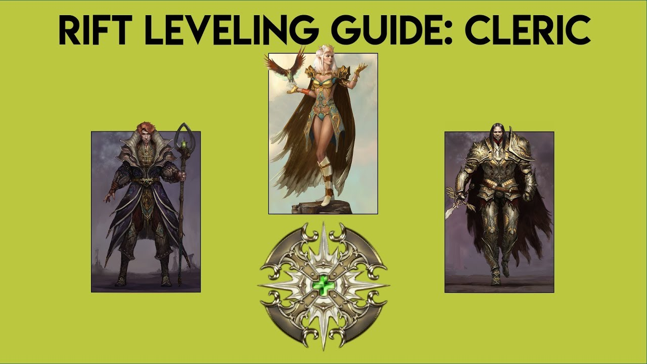 rift prime: cleric leveling guide - youtube
