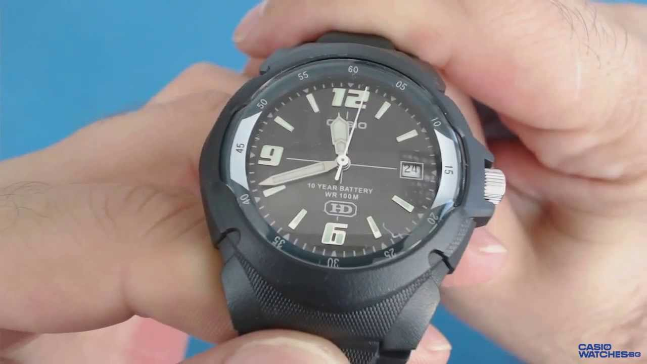 6cb6fd44ff9d Casio Collection MW-600F-1A - YouTube