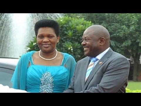 Denise Nkurunziza mubazasimbura umugabo we Pierre Nkurunziza