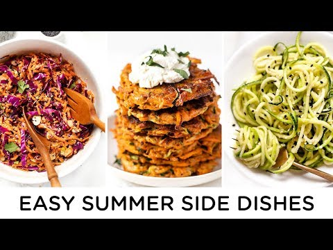 HEALTHY SUMMER SIDES ‣‣ quick & easy summer recipes