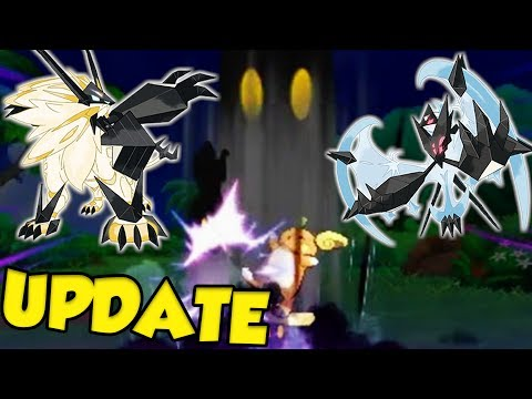 FINALLY A Big Marshadow Update And The New Forms Of Pokemon Ultra Sun and Ultra Moon