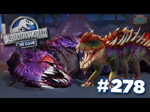 MAXED Gorgosuchus Takes On OMEGA 09! || Jurassic World - The Game - Ep278 HD