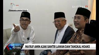 Download Video Ma'ruf Amin Ajak Santri Lawan dan Tangkal Hoaks MP3 3GP MP4