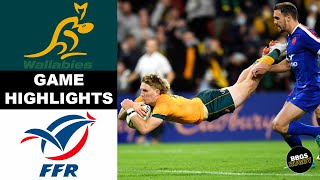 Australia vs France Game 3 HIGHLIGHTS   Rugby Highlights 2021