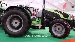 The 2019 DEUTZ FAHR Nurseries tractors