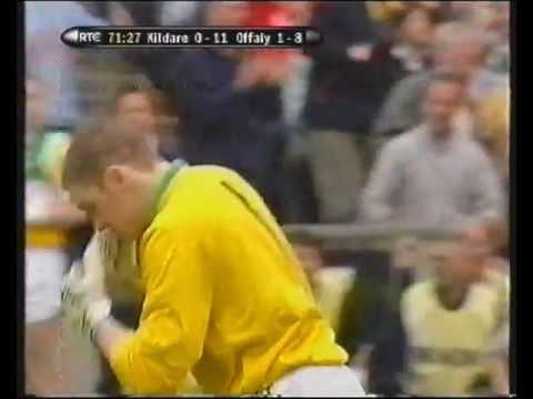 The Original Free Taking Goalkeeper,Padraig Kelly Offaly..............He misses