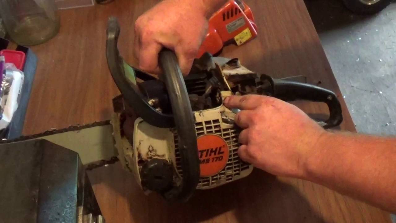 Common isues with Stihl MS 170 and MS 180 Chainsaws