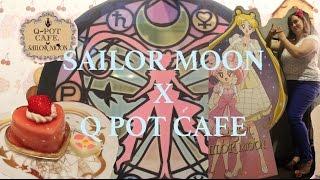 Sailor Moon x Q Pot Cafe in Harajuku