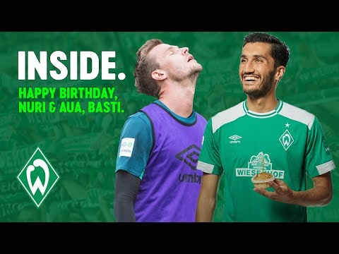 Nuri Sahin feiert Geburtstag & Langkamp in der Schule | WERDER.TV Inside vor SV Meppen