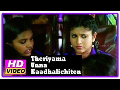 Theriyama Unna Kadhalichitten Movie | Scenes | Vijay Vasanth Proposes To Rasna | Nizhalgal Ravi