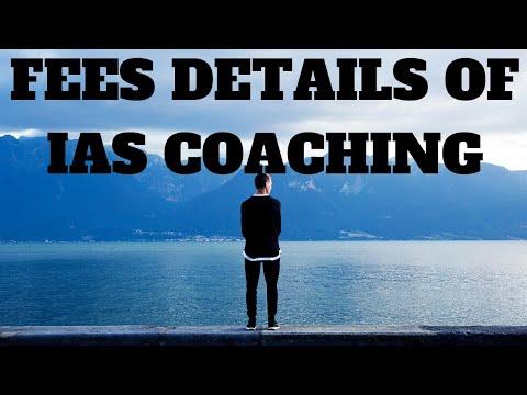 FEES DETAILS OF IAS COACHING IN CHENNAI