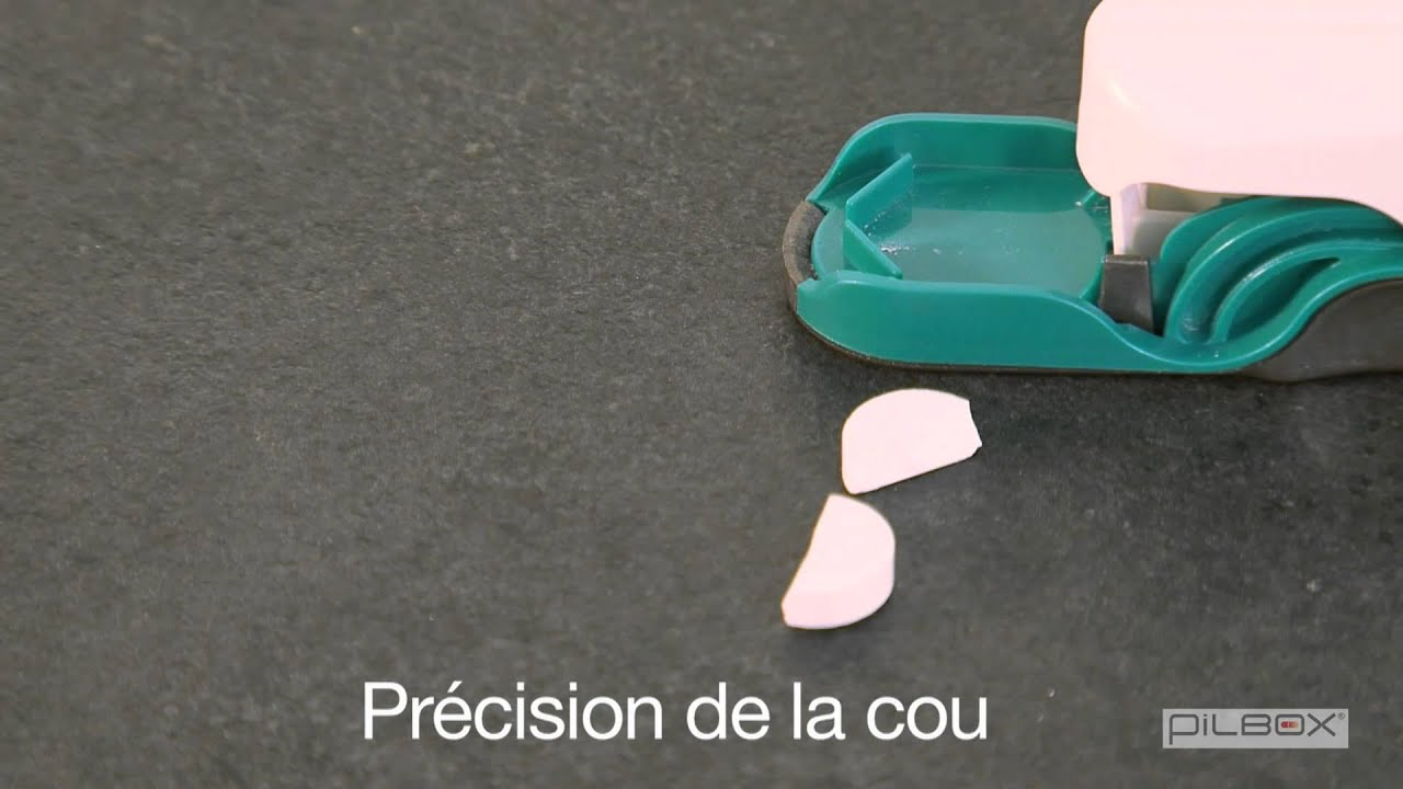 Pilbox cutter coupe comprim youtube - Coupe comprimes pharmacie ...