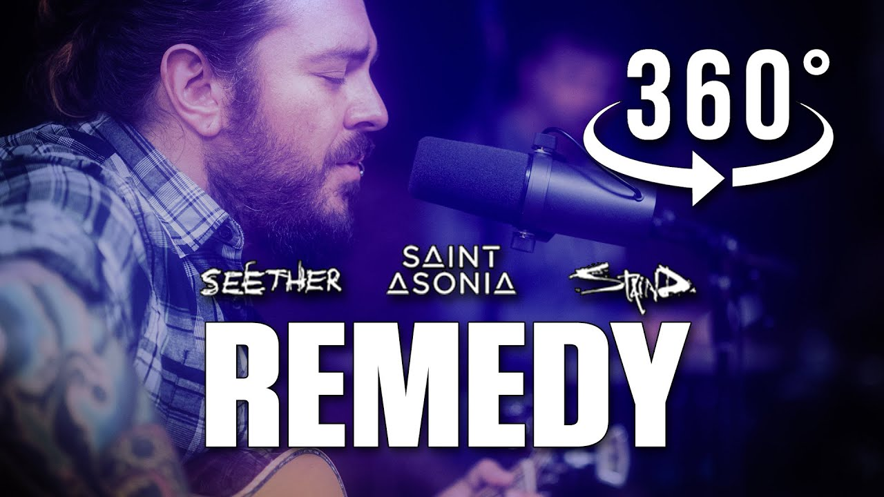 Remedy Acoustic Version by Shaun Morgan of Seether with Staind and Saint Asonia in 360˚ VR