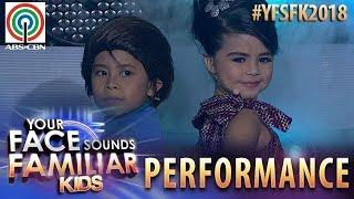 Your Face Sounds Familiar Kids 2018: Onyok Pineda & Xia Vigor as Hotdog | Beh Buti Nga