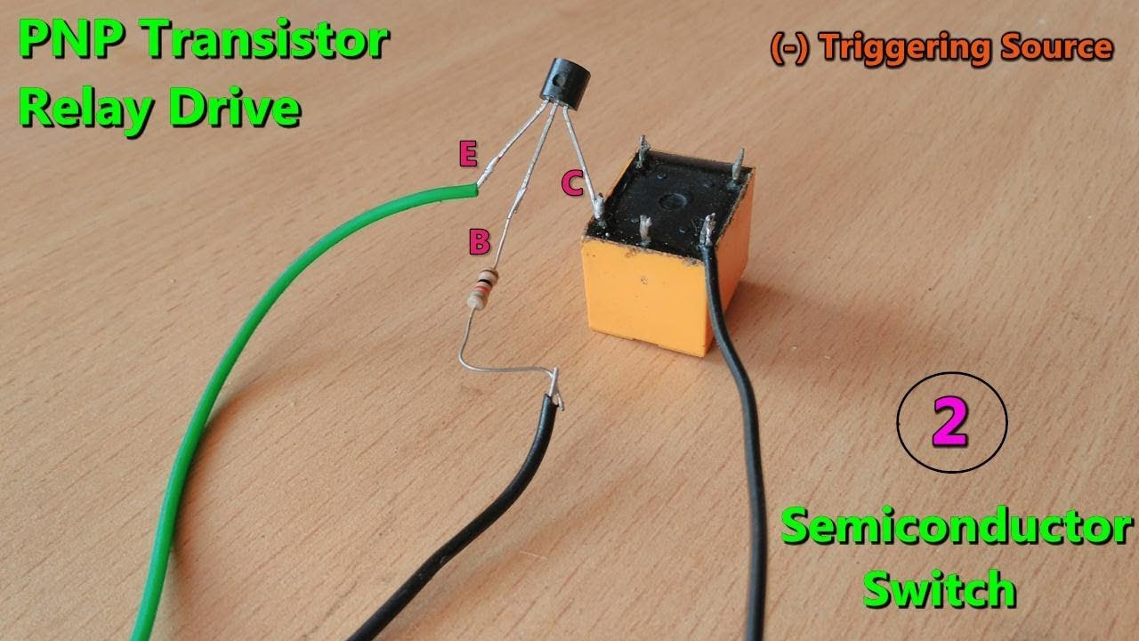 Pnptransistor Based Dc Relay Drive Make Triggering Source Circuits By Photo Transistor Electronic Projects Voltage Method 2
