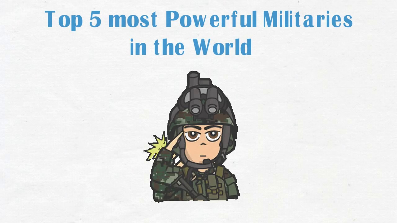 Top 5 Military in the world (2019)