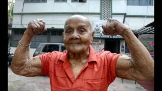 MANOHAR AICH 103 YEAR BODYBUILDER TRIBUTE