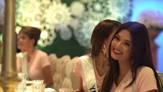 Visita de las candidatas del Miss Venezuela 2017