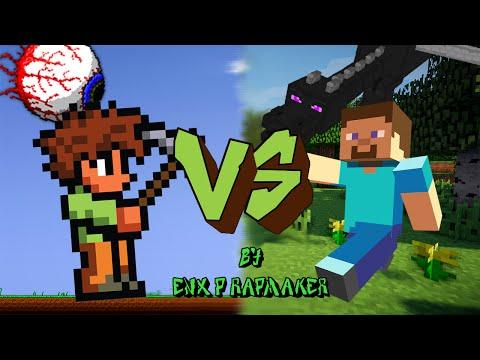 Minecraft vs. Terraria || Enx-P || Batalla de Rap