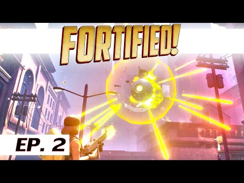 Fortified! - Ep. 2 - Flying mines (mission 3) - PC single player let's play -- gameplay
