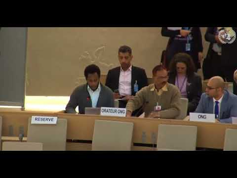 37th Session Human Rights Council - Item 5 GD - Mr. Mutua K. Kobia