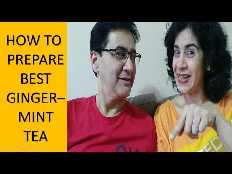 How To Make Best Ginger Tea | How To Prepare Best Ginger Mint Tea | Masala Chai (Tea)