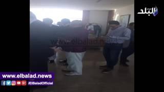 وكيل البرلمان يستقبل رئيس البرلمان العربى .. فيديو وصور