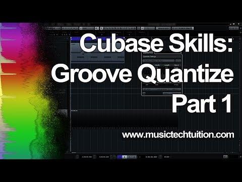 Cubase Skills: Groove Quantize MIDI 1 – Timing
