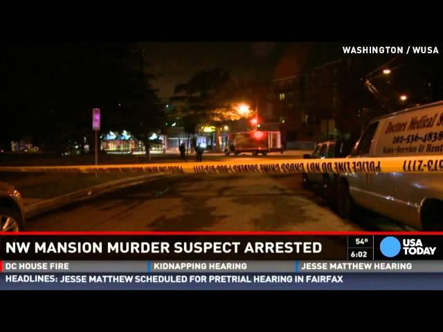 Suspect in D.C. quadruple mansion murder arrested
