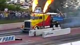 видео: Самый быстрый грузовик в мире!